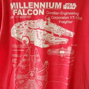 2 For $17 MILLENNIUM FALCON Tee